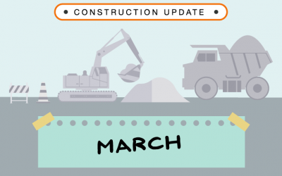 Construction Update: March